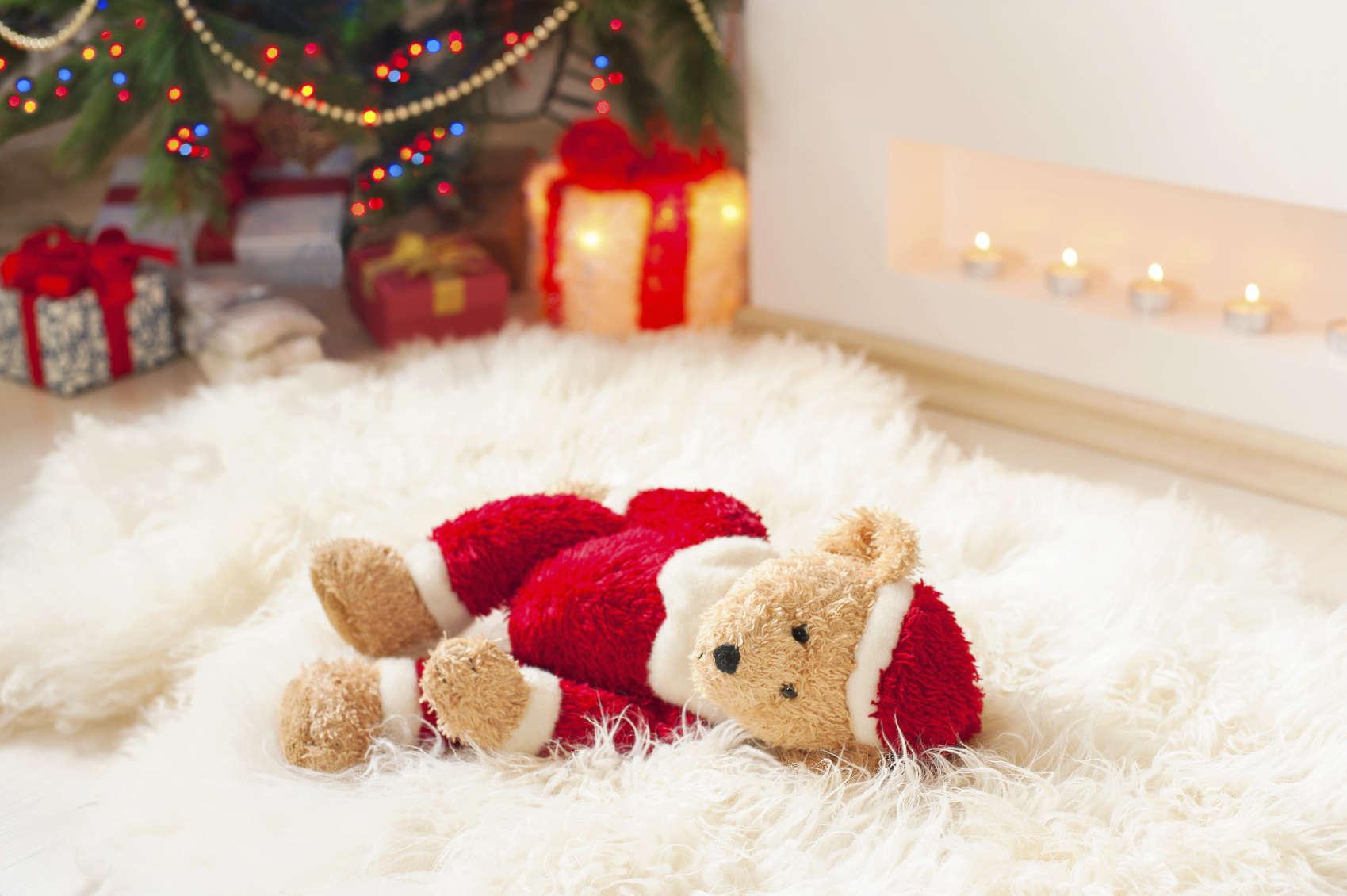 A Forgotten gift. Santa Teddy